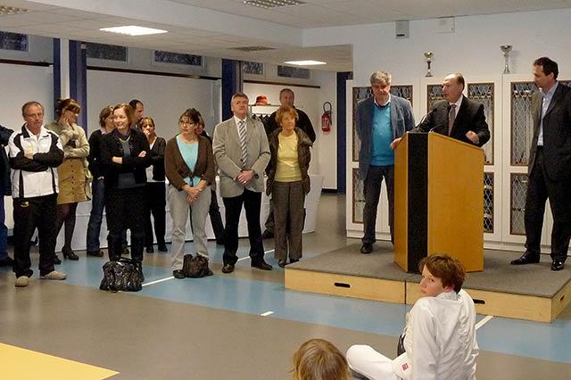 2011 - ASMeudon inauguration de la salle d'armes Curie à Meudon la Forêt