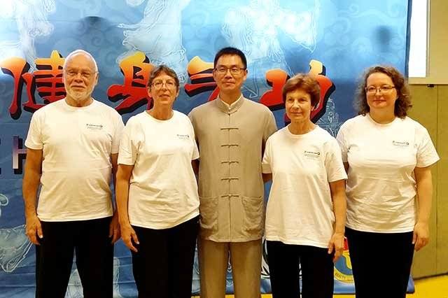 2016 - 1er colloque de Qigong à Paris - Participation de nos 4 enseignants avec le Pr Chao Sheng Jie de l'Université de Lishui (Chine)