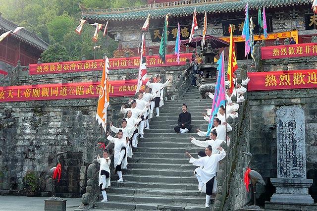 Voyage en Chine (étape à Wudangshan)